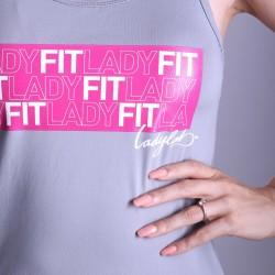 Ladylab Tielko LADY FIT - GREY