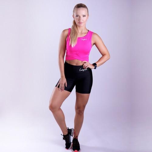 Ladylab fitness kraťasky BLACK