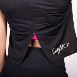 Ladylab Crop Top - BLACK