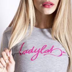Ladylab Tričko - ŠEDÉ