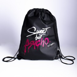 GYM BAG - SWEET BUT PSYCHO by Ladylab